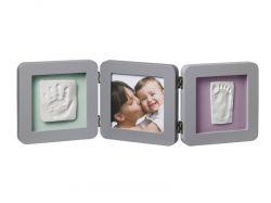 Baby Art Double Print Frame Grey rámeček