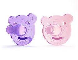 Avent Soothie 0-3 měsíce šidítko bez BPA 2 ks pro dívky