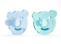 Avent Soothie 0-3 měsíce šidítko bez BPA 2 ks pro chlapce