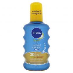 Nivea Protect&Refresh Neviditelný sprej na opalování OF30 200 ml