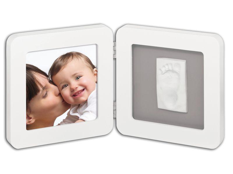 Baby Art Print Frame White & Grey rámeček