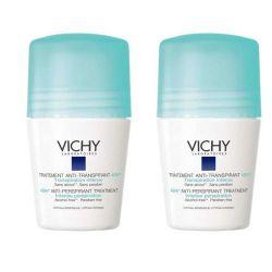Vichy Deo antitranspirant proti nadměrnému pocení roll-on DUO 2x50 ml