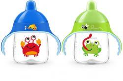 Avent Premium Hrneček pro první doušky 12m+ 260 ml 1 ks žába/krab