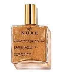 Nuxe Huile Prodigieuse  GOLD Zázračný olej se třpytkami  50 ml