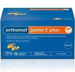 Orthomol Junior C plus mandarinka 30 denních dávek