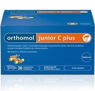 Orthomol Junior C plus lesní plody 30 denních dávek