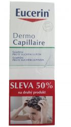 Eucerin Dermocapillaire Šampon na suché lupy Promo 2017