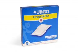 Urgo Urgosterile 10 cm x 7 cm sterilní náplast  10 ks