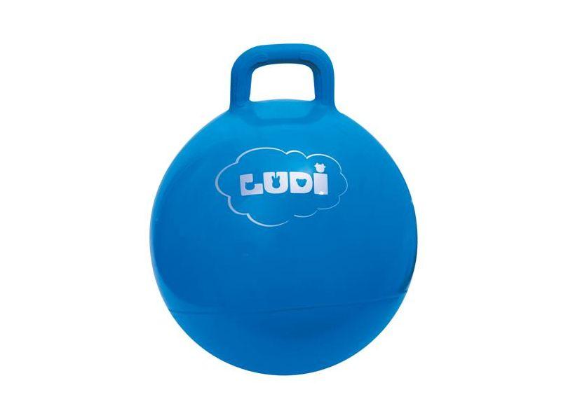 Ludi Skákací míč 45cm modrý