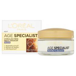 Loréal Paris Age Specialist 65+ noční krém proti vráskám 50 ml