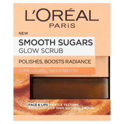 Loréal paris Jemný rozjasňující cukrový scrub maska 50 ml