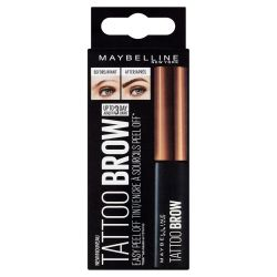 Maybelline Brow Tattoo Medium Brown barva na obočí 4,6 g