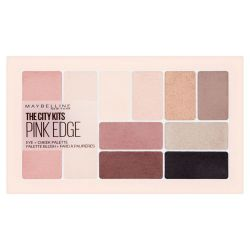 Maybelline The City Kits Pink Edge paletka na oči a tváře 12 g
