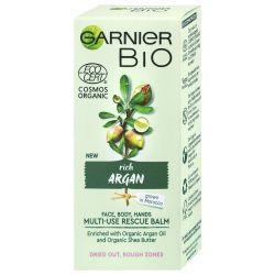 Garnier BIO Ošetřující balzám s arganovým olejem a bambuckým máslem 50 ml