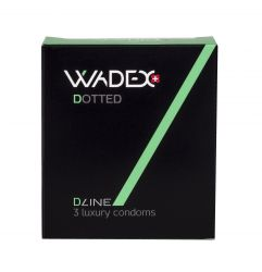 WADEX Dotted kondomy 3 ks
