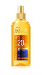 Eveline Amazing Oils SPF20 opalovací suchý olej 150 ml
