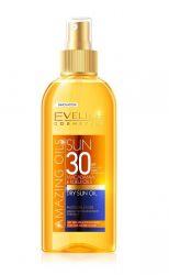 Eveline Amazing Oils SPF30 opalovací suchý olej 150 ml