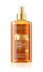 Eveline Summer Gold samoopalovací olej na světlou pleť 150 ml
