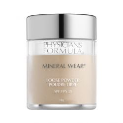 Physicians Formula Mineral Wear® Loose Powder SPF 15 Translucent Light sypký pudr 12 g