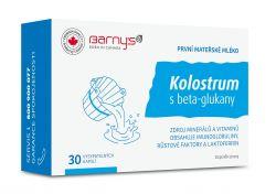 Barny´s Kolostrum s beta-glukany 30 kapslí