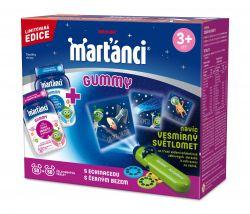 Marťánci Gummy Echinacea + Černý bez 50+50 ks + dárek Beamer