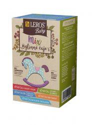 Leros BABY Mix bylinný čaj 5x4 sáčky