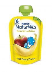 Nestlé Naturnes banán jablko kapsička 90 g