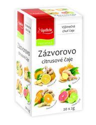 Apotheke Zázvorovo citrusové čaje  4v1  nálevové sáčky 20x 2 g