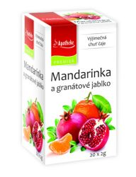 Apotheke Mandarinka a granátové jablko nálevové sáčky 20x 2 g