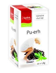 Apotheke Pu-erh čaj nálevové sáčky 20x 1,8 g