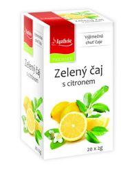 Apotheke Zelený čaj s citronem nálevové sáčky 20x 2 g