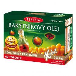 Terezia Rakytníkový olej 100% 60 tobolek