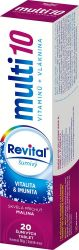 REVITAL Multi 10 Malina 20 šumivých tablet