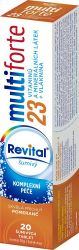 REVITAL Multi forte 23 Pomeranč 20 šumivých tablet