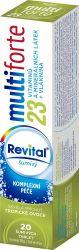REVITAL Multi forte 23 Tropické ovoce 20 šumivých tablet
