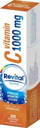Revital Vitamin C 1000 mg pomeranč 20 šumivých tablet