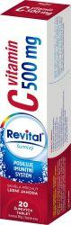 Revital Vitamin C 500 mg lesní jahoda 20 šumivých tablet