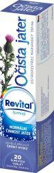 Revital Očista jater - ostropestřec mariánský 20 šumivých tablet