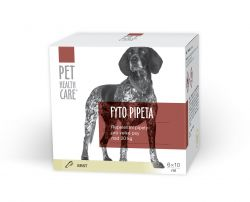 Pet health care Fytopipeta pes od 20 kg 6x10 ml