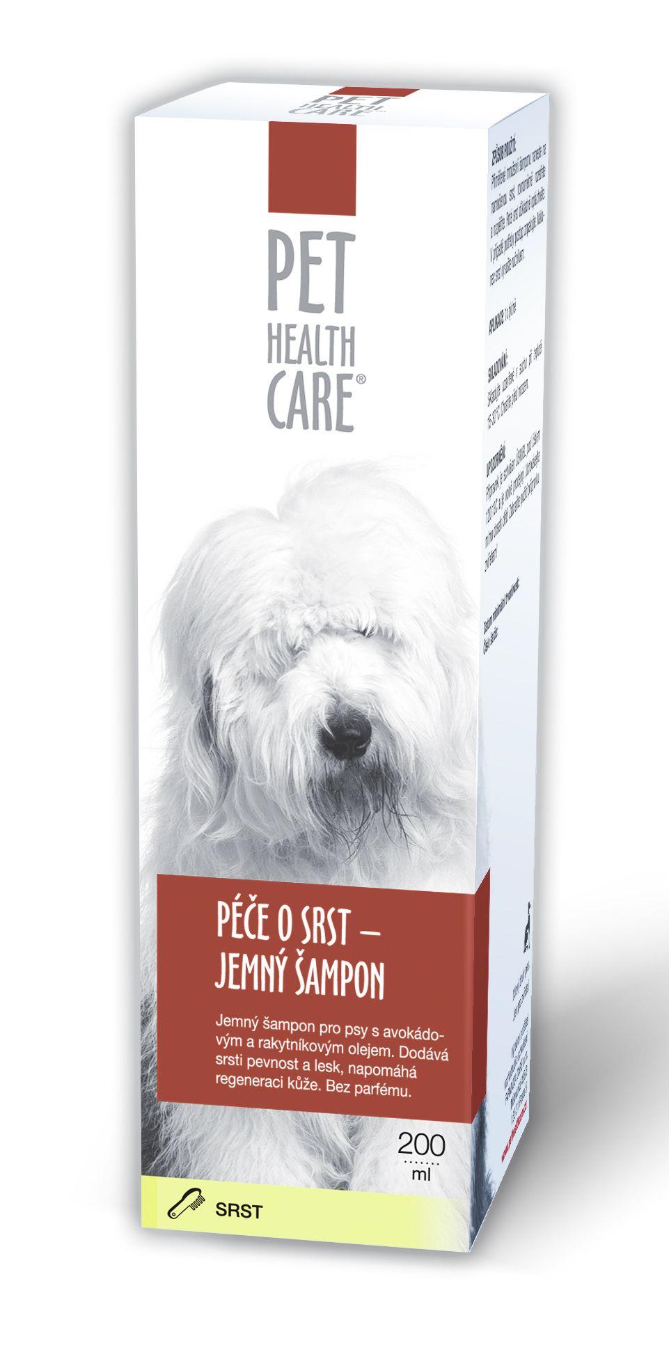 Pet health care Péče o srst jemný šampon 200 ml