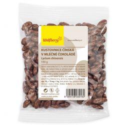 Wolfberry Kustovnice čínská v mléčné čokoládě 100 g