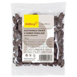 Wolfberry Kustovnice čínská v hořké čokoládě  100 g