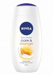 Nivea Sprchový gel Care&Orange 250 ml
