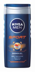 Nivea MEN Sport sprchový gel 250 ml