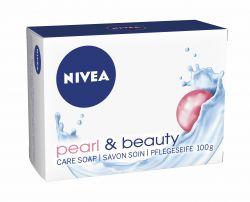 NIVEA Tuhé mýdlo Pearl Beauty 100g