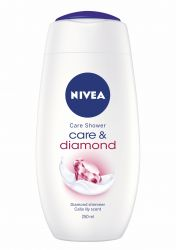 Nivea Sprchový gel Care&Diamond 250 ml