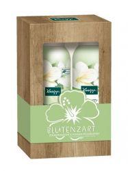 Kneipp Hedvábný květ Sprchová pěna + pěnové tělové mléko