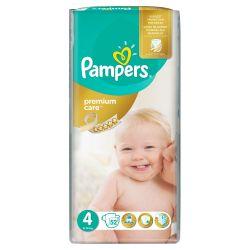 Pampers Premium Care Dětské pleny velikost 4 Maxi 52 ks