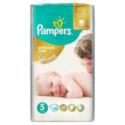 Pampers Premium Care Dětské pleny velikost 5 Junior 56 ks