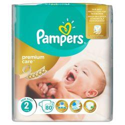 Pampers Premium Care Dětské pleny velikost 2 80 ks